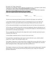 Chapter App Form for Psych, ch 4 .docx