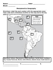 Mesoamerica Geography.docx