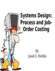 Lesson 3 - Job-order costing