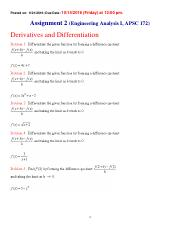 Chapter 2  - Assignment - Differentiation (Problems)(1).pdf