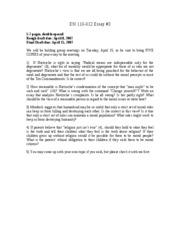 Uconn essay length