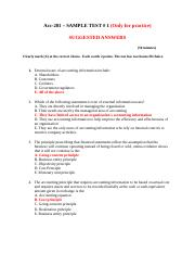 ACC - 201 - TEST # 1 - FALL - xxxx - Suggested Answers (1).docx