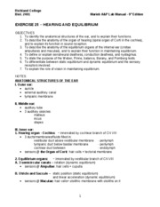 Worksheets Chapter 8 Special Senses Worksheet Answers collection of special senses worksheet sharebrowse chapter 8 answers delibertad
