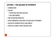 LECTURE 1 - THE BALANCE OF PAYMENTS ACCOUNTS [Compatibility Mode]