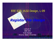 Lecture-09 register file v02 slides