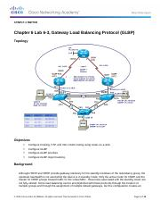 CCNPv7.1_SWITCH_Lab6-3_GLBP_STUDENT