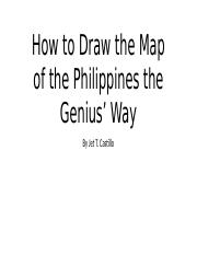 (3) Map of the Philippines