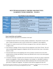 mgt 230 management theory and practice final exam 1 what is in the external environment of organizations be sure you can • list the key elements in the external environments of organizations • give examples of how present conditions for each element pose immediate challenges to organizations • give examples of how possible future developments for each of these elements might require significant [].