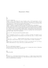 Homework 1 Solution on Real Analysis Fall 2014
