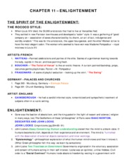 Ch 11 - The Enlightenment - Combined