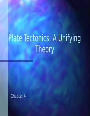 Chapter 04 Plate Tectonics(1).pptx