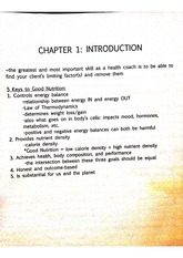 chapter 1 nutrition