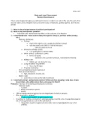 POLS 207 Review Sheet Exam 2(Fall 2012)-1