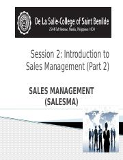 2015-SALESMA-SESSION-2-INTRODUCTION-TO-SALES-MANAGEMENT.pptx