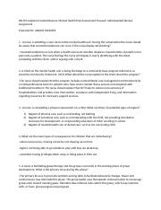 capstone post assignment- mental health.docx