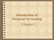 Chapter 1. Accounting overview1