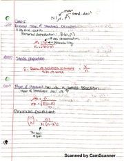 Chem 361B Binomial Mean And STD notes