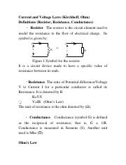 Lec3_Current and Voltage Laws, Equivalent Circuits.doc
