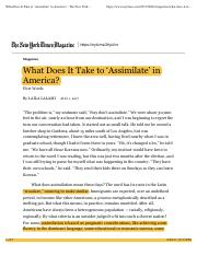What Does It Take to 'Assimilate' in America- - The New York Times.pdf