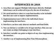L10 interfaces in java