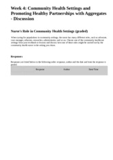 week 4 nurses rold in community health settings.html