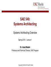 Lecture 1 - Systems Architecting Overview.pdf