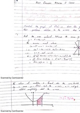 Integration In Graphs Class Notes
