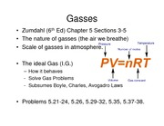Lecture 5B on Gasses