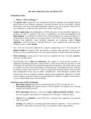 FORENSIC DNA TECHNOLOGY LECTURE NOTES  FINAL 2016 A
