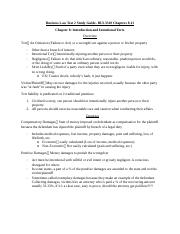 Business Law Test 2 Study Guide.docx