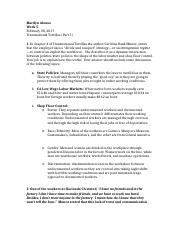Week 5 Questions latino workers in U