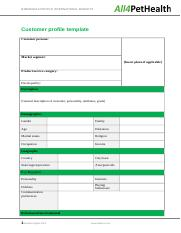 Assessment 3B Customer profile template.docx