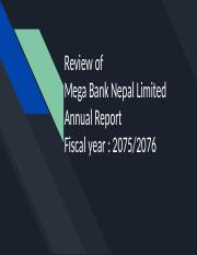 Review of Mega Bank Annual Report.pptx