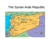 The Syrian Arab Republic