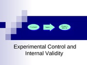 Chapter 12_Experimental Control and Internal Validity