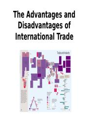 Advantages and Disadvatages of Trade.odp