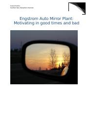engstrom auto mirror plant motivating in good times and bad