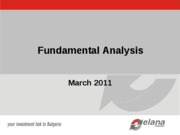 Fundamental Analysis_AUBG 2011