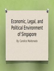 Economic, Legal, and Political Environment of Singapore.pptx