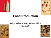 Food Produc-Students