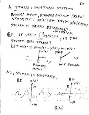 Lecture Notes D on Linear Systems