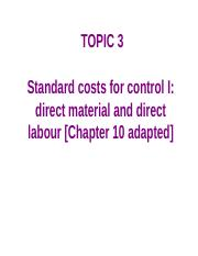 Topic 3_Standard costs 1_ch10