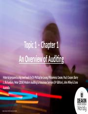 Topic 1 - Chapter 1 - Slides