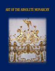 Art 157 Ch. 18 ABSOLUTE MONARCHY sp17.ppt
