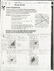 ALG- Linear Programming practice