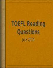 TOEFL Reading question types.pptx