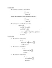 PHY 138 - Chapter 6 Solutions