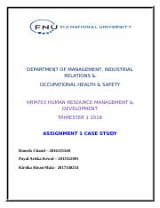HRM 703 case study assignment.docx