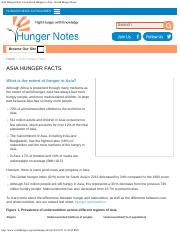 Asia Hunger Facts, Facts About Hunger in Asia - World Hunger News