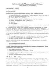 Mathematics - Introduction to Probability Theory